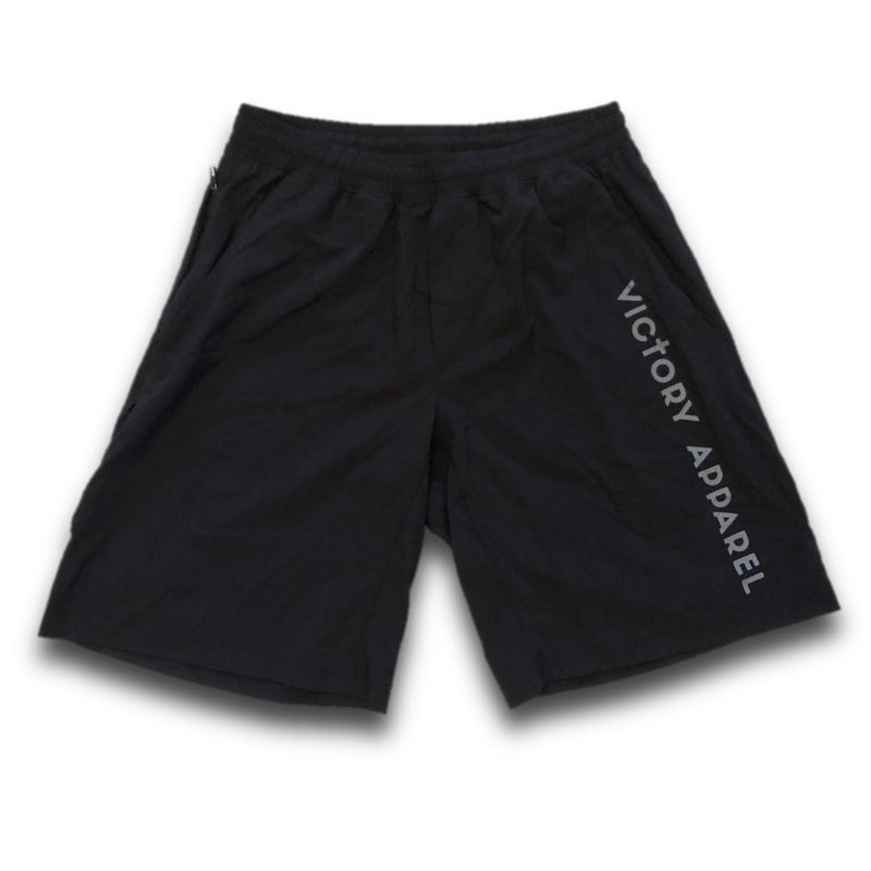 Men's Lightweight Training Shorts (Black)-Victory Apparel, Inc.