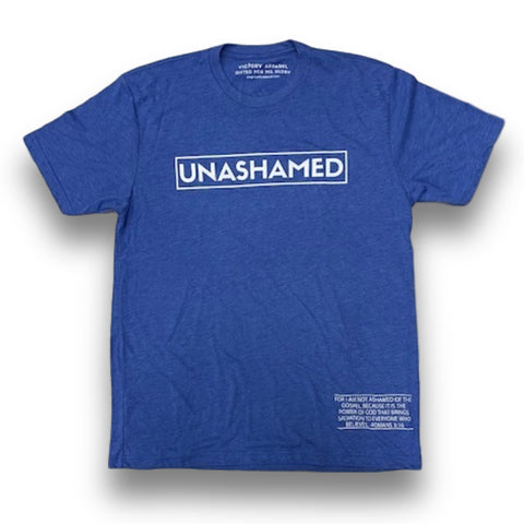 Unashamed Tee (Vintage Royal)