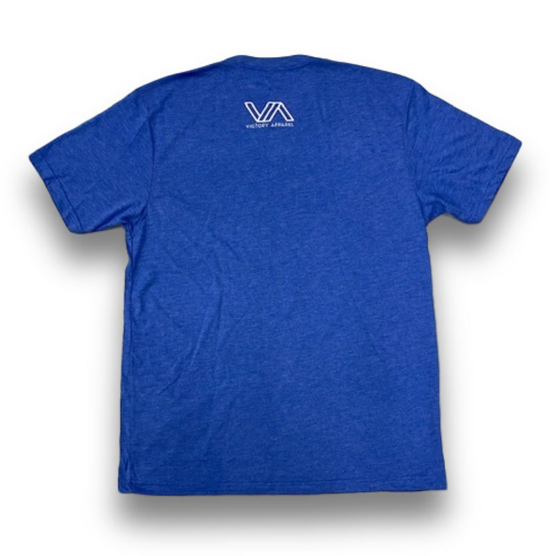 Unashamed Tee (Vintage Royal)-Victory Apparel, Inc.