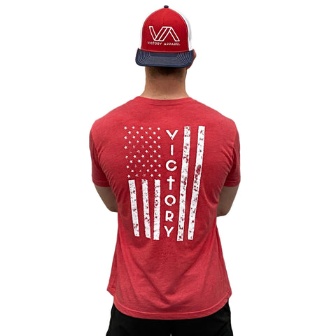 Brave Tee (Vintage Red) | Victory Apparel, Inc.