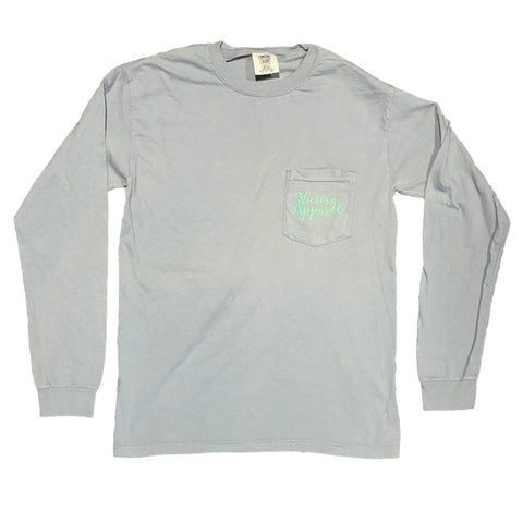 Comfort Colors Long Sleeve Tee (Grey) | Victory Apparel, Inc.