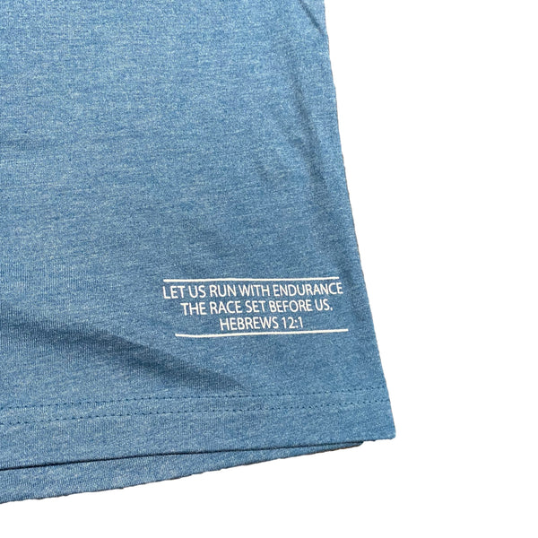 Endure Tee (Deep Teal)-Victory Apparel, Inc.