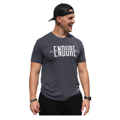 Endure Tee (Vintage Navy) | Victory Apparel, Inc.