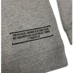Train in Godliness Lightweight Crew (Heather Grey)