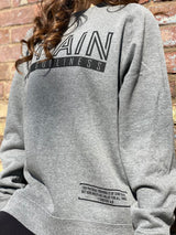 Train in Godliness Lightweight Crew (Heather Grey)-Victory Apparel, Inc.