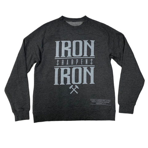 Iron Sharpens Iron Lightweight Crew (Charcoal Heather)