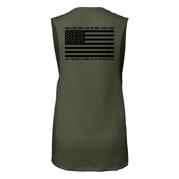 *Pre-order* Memorial Day Murph 2021 Women's Muscle Tank-Victory Apparel, Inc.