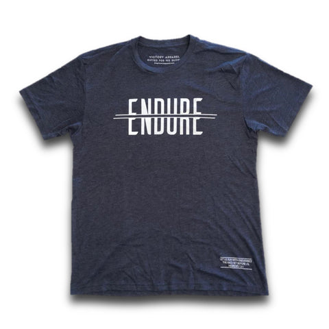 Endure Tee (Vintage Navy)