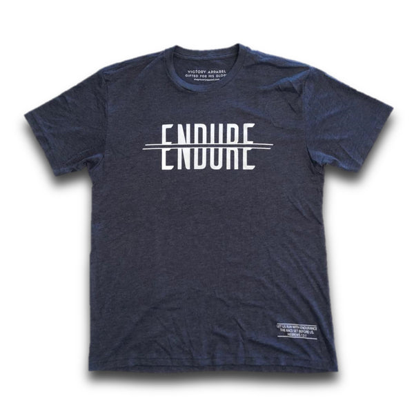 Endure Tee (Vintage Navy)-Victory Apparel, Inc.