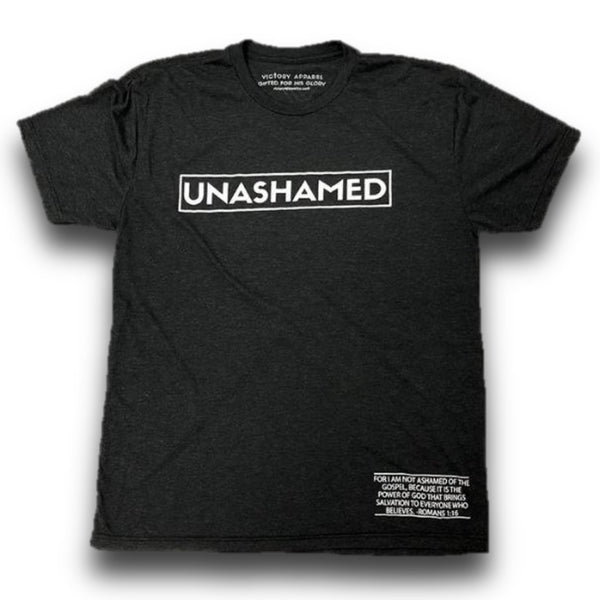 Unashamed Tee (Black)-Victory Apparel, Inc.
