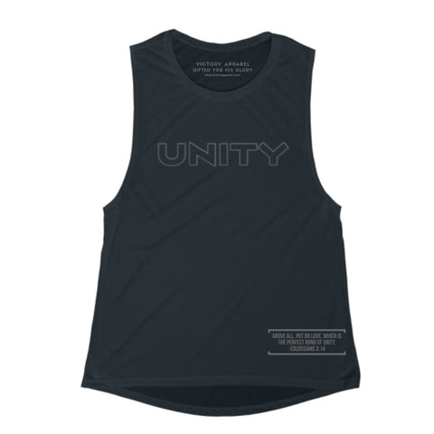 Unity Tee/Tank (Black)-Victory Apparel, Inc.