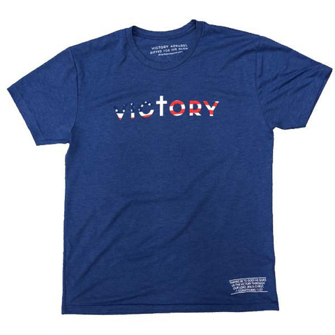Victory Tee (Vintage Royal) | Victory Apparel, Inc.