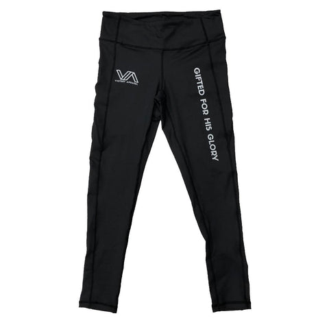 Full Length GFHG Performance Leggings (Black) | Victory Apparel, Inc.