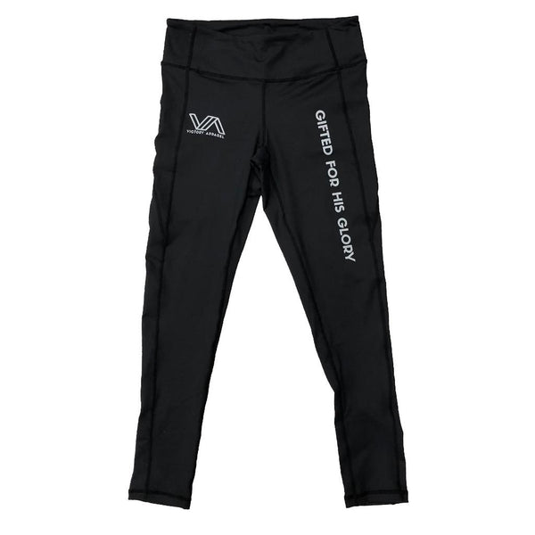 Full Length GFHG Performance Leggings (Black)