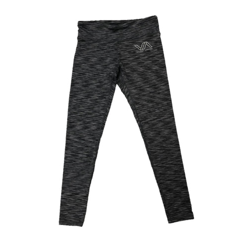 Full Length Leggings (Heather Black) | Victory Apparel, Inc.