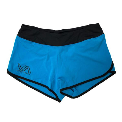 Flow Shorts (Blue) | Victory Apparel, Inc.