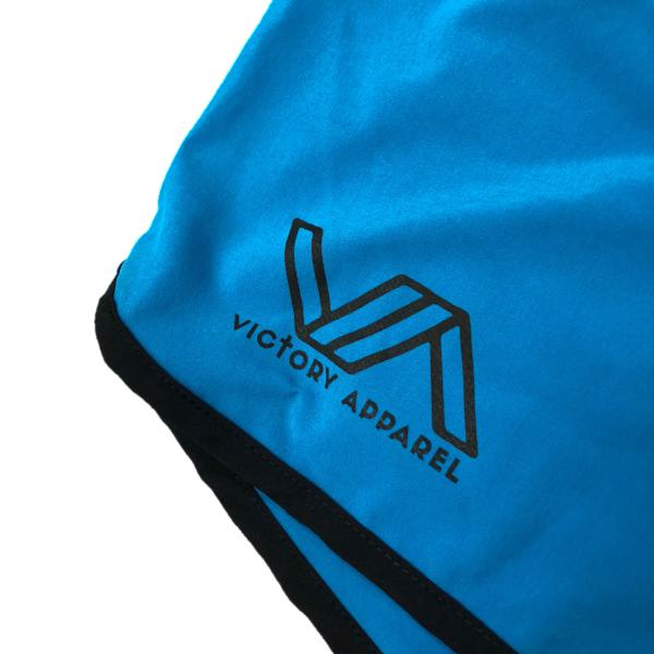 Flow Shorts (Blue)-Victory Apparel, Inc.