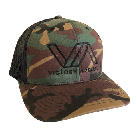 Victory Apparel Trucker Hat (Camo) | Victory Apparel, Inc.