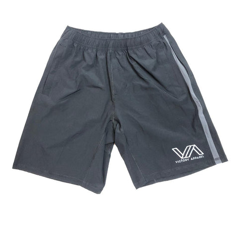 Victory Apparel Endure Athletic Shorts (Black) | Victory Apparel, Inc.
