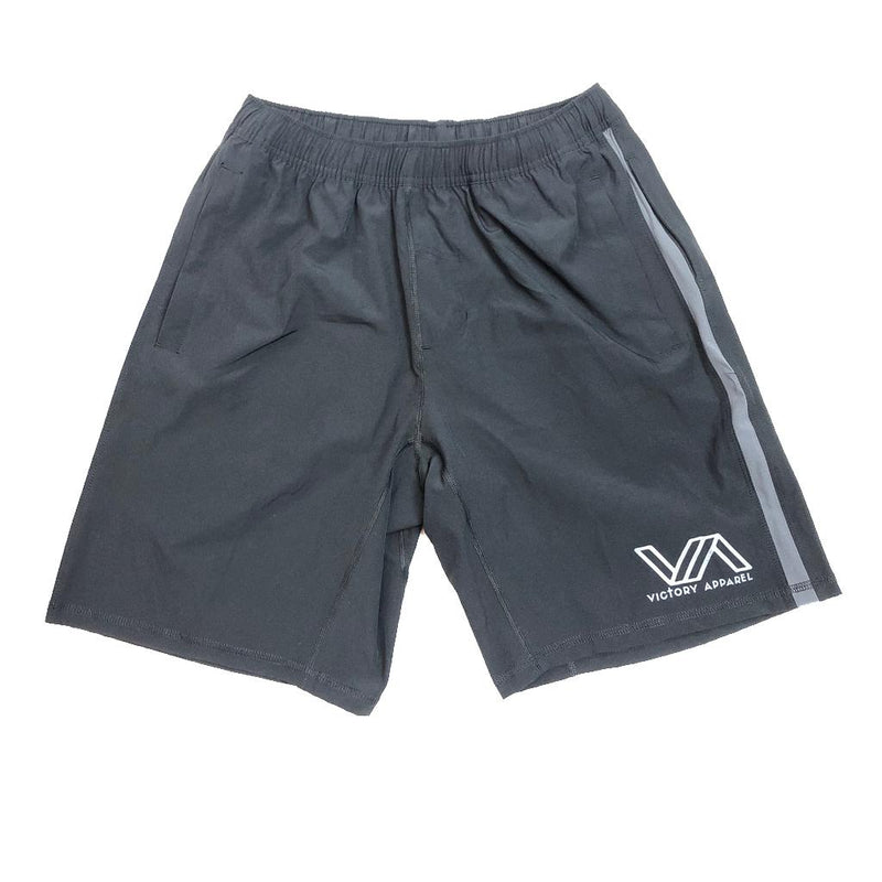 Victory Apparel Endure Athletic Shorts (Black)-Victory Apparel, Inc.