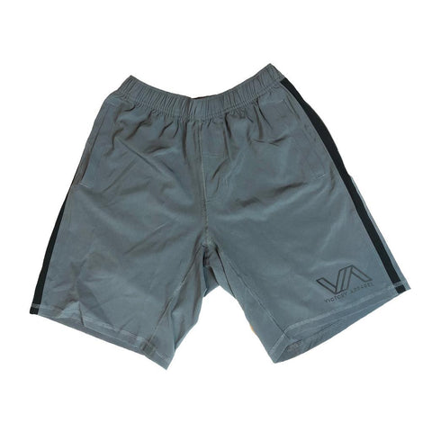Victory Apparel Endure Athletic Shorts (Grey) | Victory Apparel, Inc.