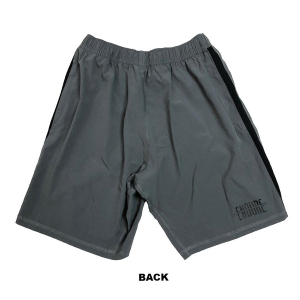 Victory Apparel Endure Athletic Shorts (Grey)-Victory Apparel, Inc.