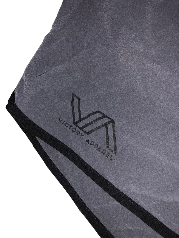 Flow Shorts (Charcoal)-Victory Apparel, Inc.