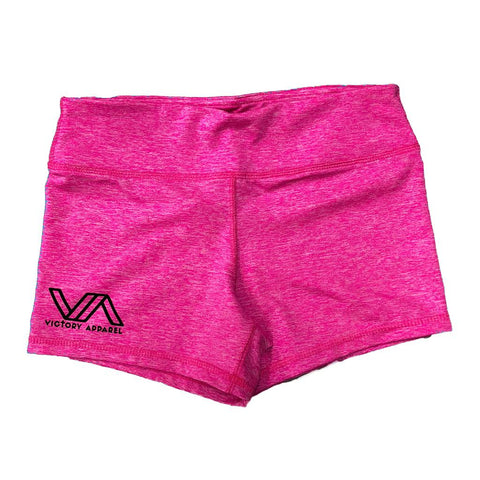 VA Performance Shorts (Heather Pink) | Victory Apparel, Inc.