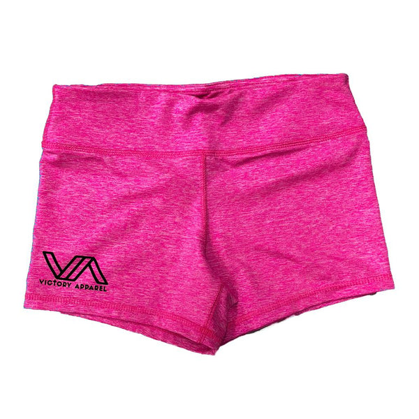VA Performance Shorts (Heather Pink)-Victory Apparel, Inc.