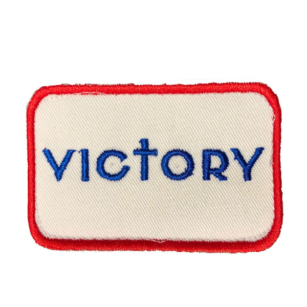 Victory Patch (Red/White/Blue)-Victory Apparel, Inc.