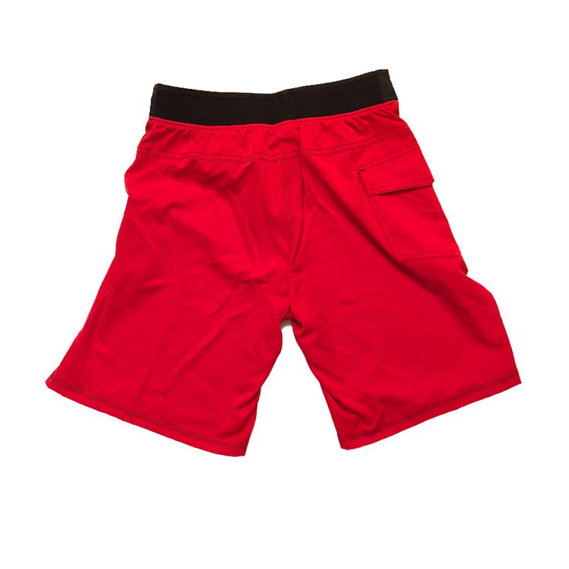 Victory Apparel Training Shorts (Red)-Victory Apparel, Inc.