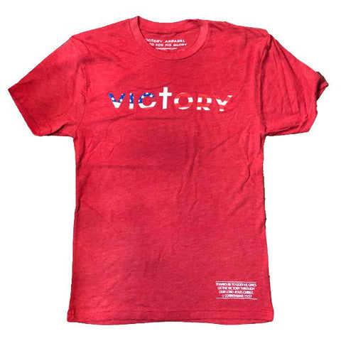 Victory Tee (Vintage Red) | Victory Apparel, Inc.