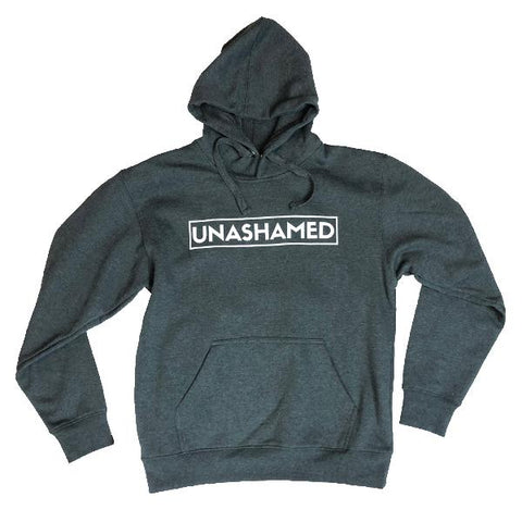 Unashamed Hoodie (Charcoal Grey) | Victory Apparel, Inc.