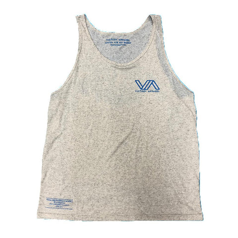 Gifted for His Glory Mens Tank (White Fleck) | Victory Apparel, Inc.