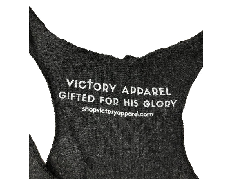 Victory Women's Tank (Vintage Black)-Victory Apparel, Inc.