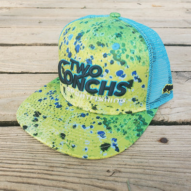 Two Conchs Mahi Trucker Hat