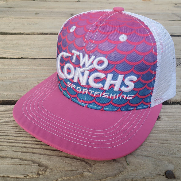 Two Conchs Mermaid Trucker Hat