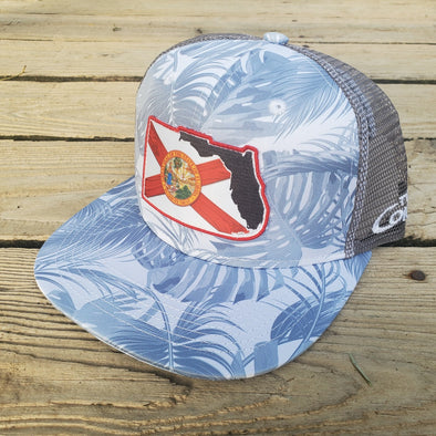 Two Conchs Florida Flag Trucker Hat