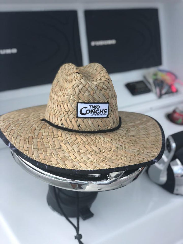 Two Conchs Truck Wrap Straw Hat