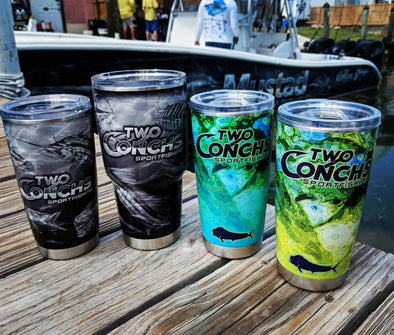 Two Conchs Yeti 20oz