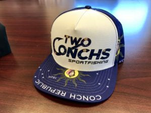 Two Conchs - Conch Republic Trucker Hat