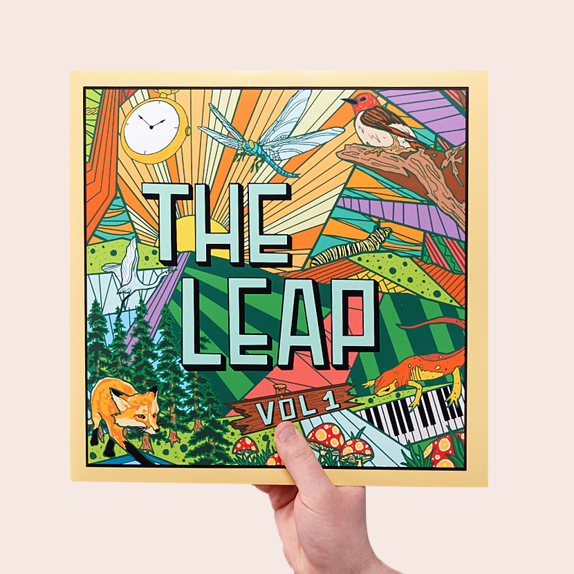 Joey Viola Music / The Leap / Volume 01 / Cover Front