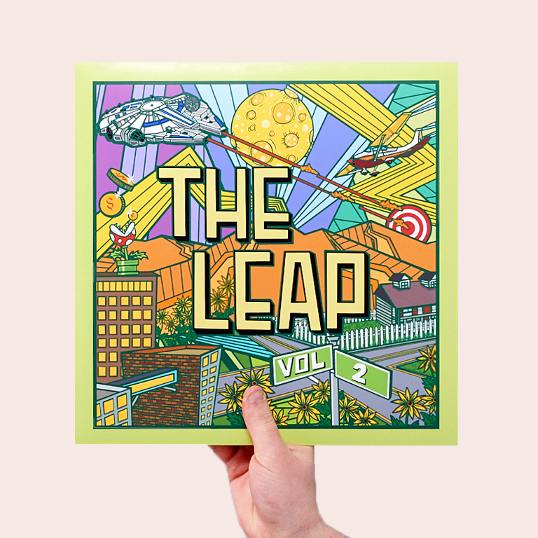 Joey Viola Music / The Leap / Volume 02 / Cover Front