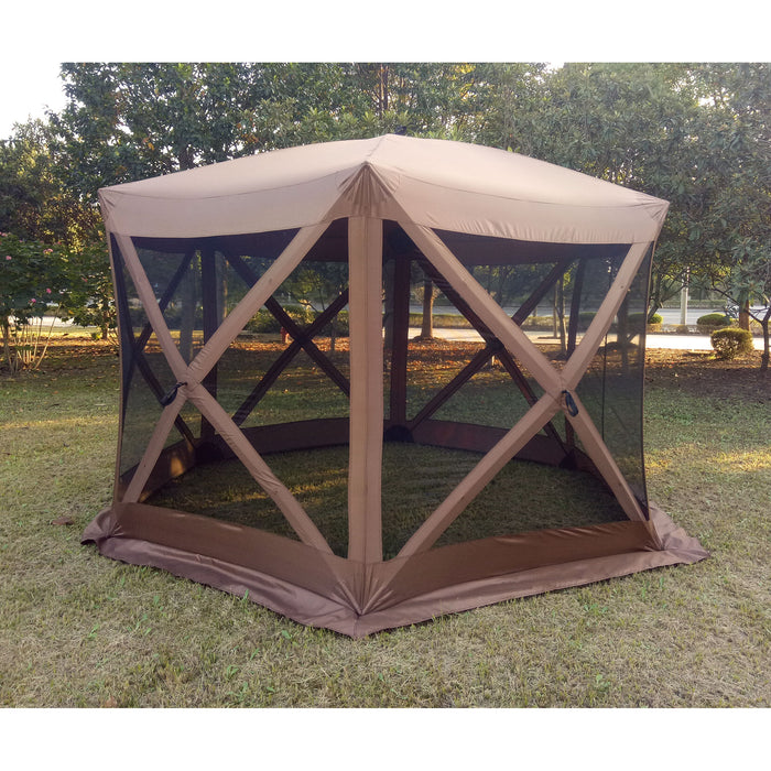 Large Luxury Hub Style Pop-Up Gazebo