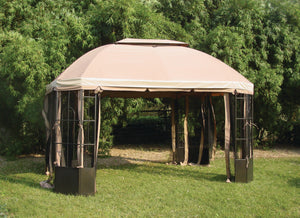 Gazebo Privacy Curtains