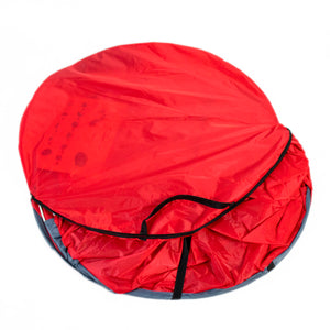 Pop-Up Beach Shelter in Red