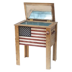Replacement parts for 57 Quart Outdoor Patio Wooden American Flag Cooler