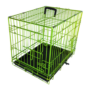 "48""Double Door Wire Dog Kennel"