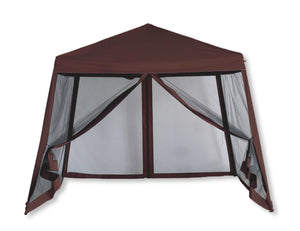 Luxury Pop-Up Gazebo with Bug Screen Sides