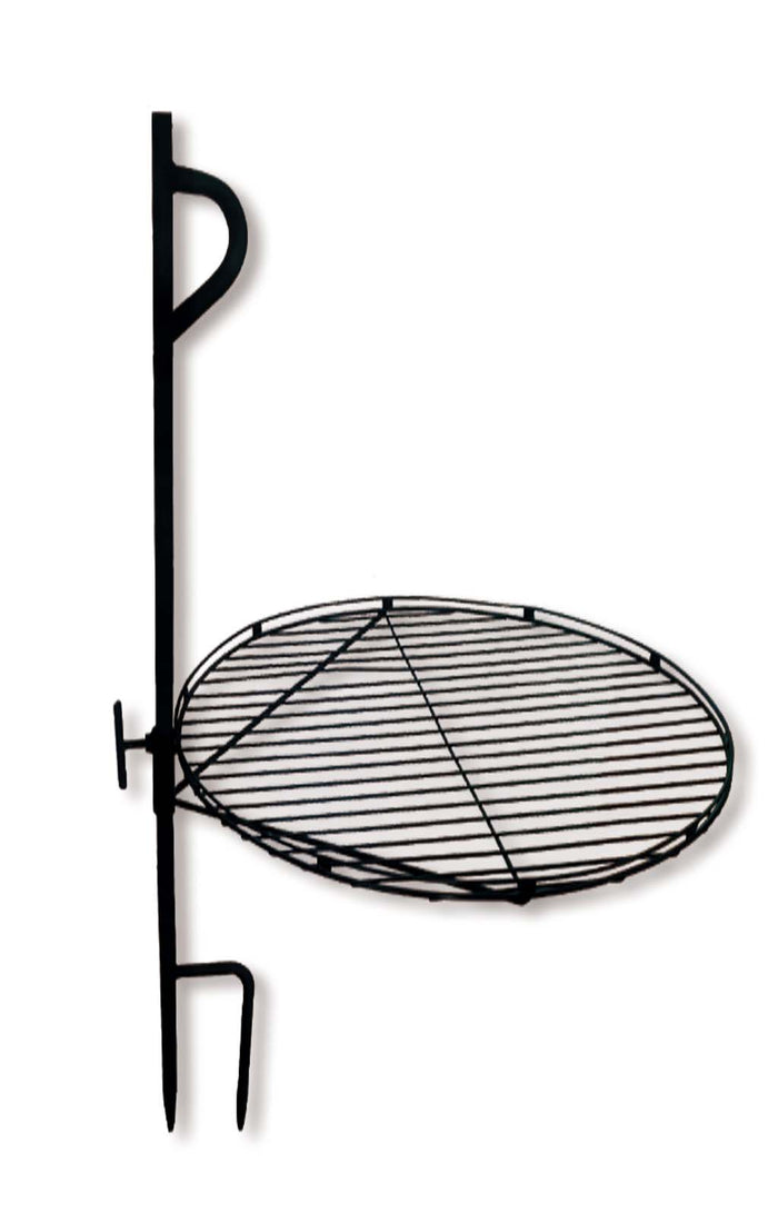 Portable Backyard Campfire  Cooking Grate Stake for Outdoor Patio and Camping
